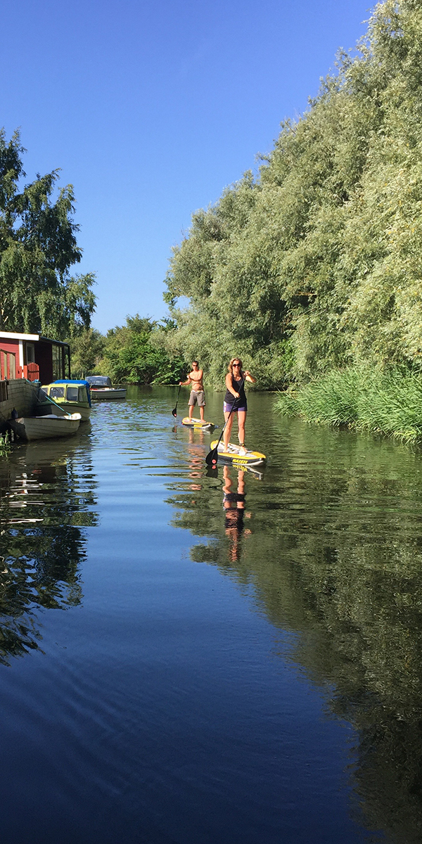 Stand Up Paddle i Lomma
