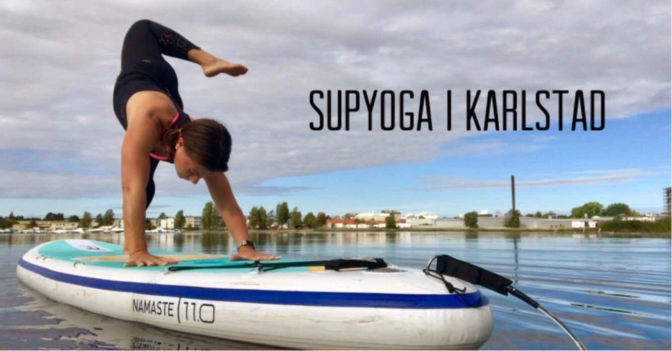 SUP yoga Karlstad